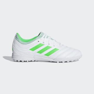Футбольные бутсы Copa 19.3 TF ftwr white / solar lime / ftwr white D98086