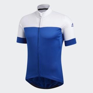 Camiseta de Ciclismo Collegiate Royal / White CW1769