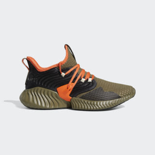 Tênis Alphabounce Instinct Clima Raw Khaki / True Orange / Core Black F35394