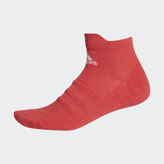 Alphaskin Ankle Socks Glory Red / White / Glory Red FL3980