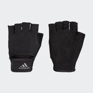 Climalite Versatile Handschuhe Black/Black/Iron Metallic CF6136