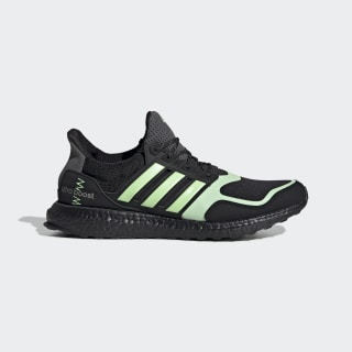 Zapatilla Ultraboost S&L Core Black / Glow Green / Grey FV7284