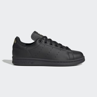 Stan Smith Schuh Core Black / Core Black / Gold Metallic EF4914
