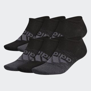 Superlite Badge of Sport No-Show Socks 6 Pairs Multicolor CM5761