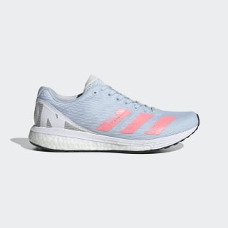 adizero Boston 8 w Sky Tint / Light Flash Red / Cloud White EG1171