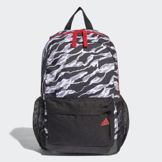 Backpack Black / White / Vivid Red DJ2279