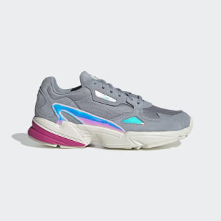Chaussure Falcon Light Grey / Chalk White / Real Magenta EG2676