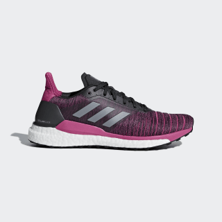 Solar Glide Schuh Carbon / Grey Three / Real Magenta AQ0335