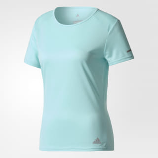 RUN TEE W ENERGY AQUA F17 CG2023