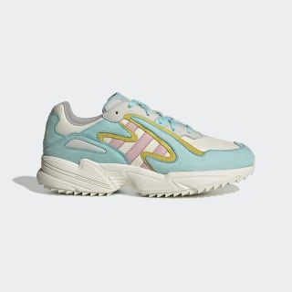 Tênis Yung-96 Chasm Off White / Clear Pink / Bright Yellow EE8007