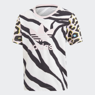 T-shirt LZ Clear Pink / Black FM9988