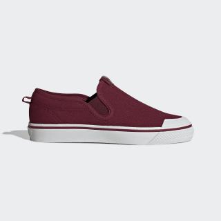 Nizza Slip-on Shoes Collegiate Burgundy / Collegiate Burgundy / Crystal White CG7137