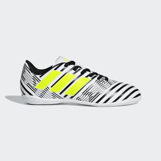 Calzado de Fútbol Nemeziz 17.4 Indoor FTWR WHITE/SOLAR YELLOW/CORE BLACK S82464