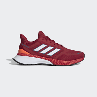 Nova Run Shoes Active Maroon / Cloud White / Solar Orange EE9262