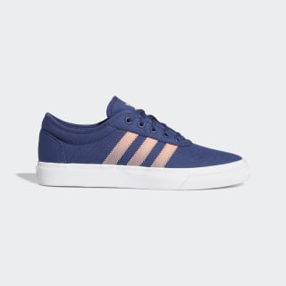 Adiease Shoes Tech Indigo / Sky Tint / Chalk Coral EG7848