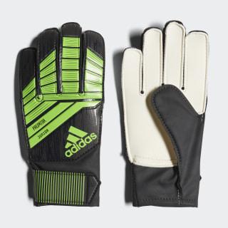 Predator 18 Pro Junior Gloves Black / Solar Green DN5623