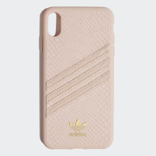 Snake Molded Case iPhone X 6.5-Inch Clear Pink / Gold Metallic CL2355