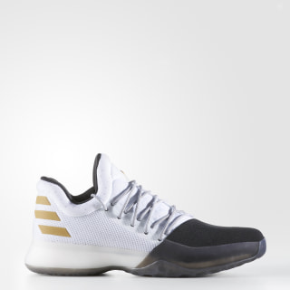 Harden Vol. 1 Shoes Cloud White / Core Black / Gold Metallic BW0552