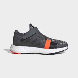 Senseboost GO Shoes Grey Six / Core Black / Solar Red EE4375