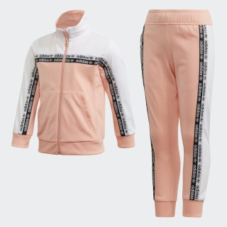 Conjunto Pants con Sudadera Glow Pink / White FN0939