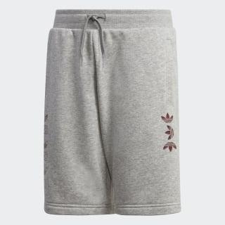 Linear Logo Shorts Medium Grey Heather / Scarlet FT8826