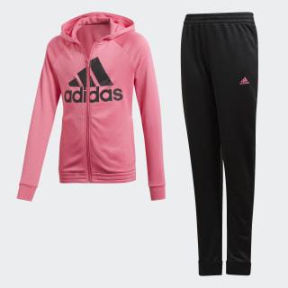Tuta con cappuccio Semi Solar Pink / Black DV0841