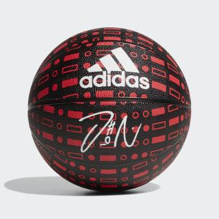 Dame Signature Mini Basketball Black / Red CD5125
