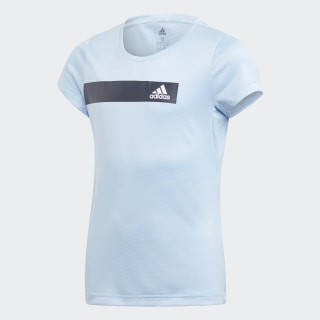 Playera Training Cool Glow Blue / White ED6278