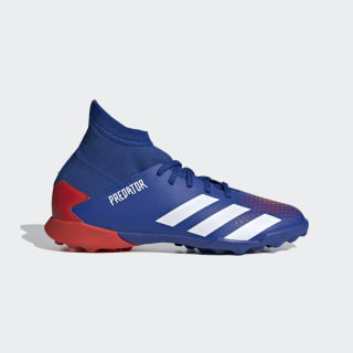 Zapatos de fútbol Predator 20.3 Pasto Sintético Team Royal Blue / Cloud White / Active Red EG0955