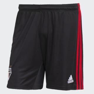 Shorts São Paulo FC 2 Black / Red / White DZ5640