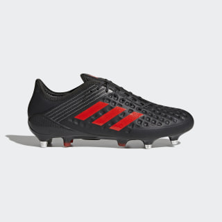 Predator Malice SG Boots Black/Light Brown/Hi-Res Red/Talc CM7455