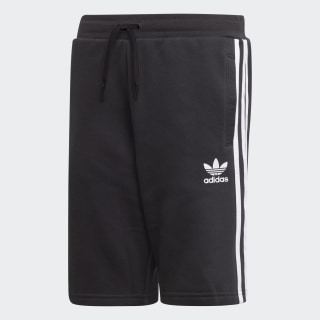 Fleece Shorts Black / White EJ3250