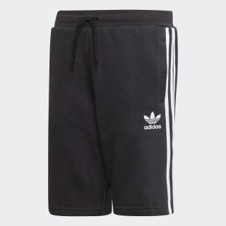 Fleece shorts Black / White EJ3250