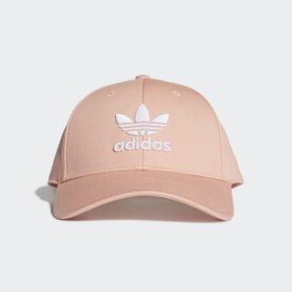 Cappellino Trefoil Baseball Dust Pink / White DV0173