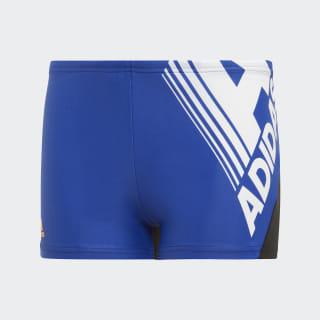 Boxer da nuoto Fitness Logo Collegiate Royal DY5086