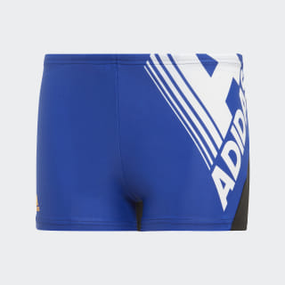 Fitness Logo Swim Boxers Collegiate Royal DY5086