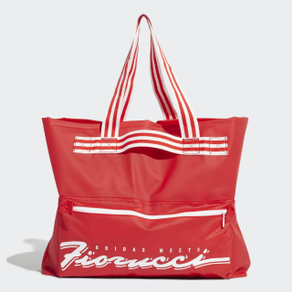 Fiorucci Stripe Tote Bag Red EA1626