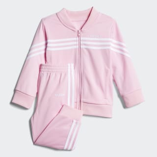 Linear Tricot Jacket Set Light Pink CM0198