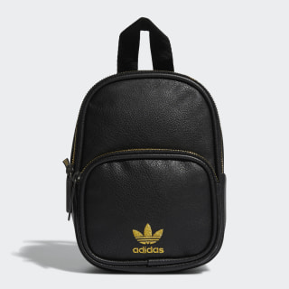Faux Leather Mini Backpack Black CK5083