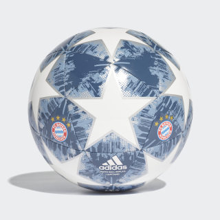 Bola Finale 18 FC Bayern Capitano WHITE/SILVER MET./RAW STEEL S18/UTILITY BLUE CW4147