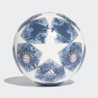 Finale 18 FC Bayern Capitano Ball White / Silver Met. / Raw Steel / Utility Blue CW4147