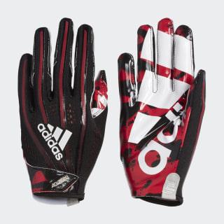 Adizero 5-Star 7.0 Tagged Gloves Black Red Met. CJ9091