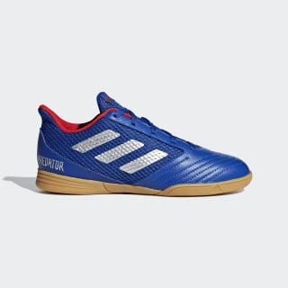 Chuteira de Futsal Predator 19.4 Bold Blue / Silver Metallic / Active Red CM8551