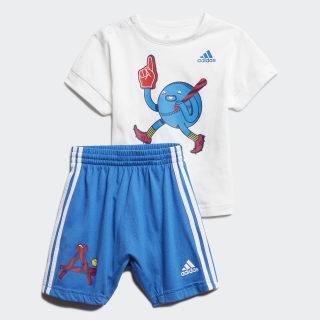 Комплект: футболка и шорты Character White / Blue FM6375