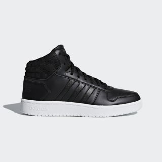 Zapatillas Hoops 2.0 Mid CORE BLACK/CORE BLACK/CARBON B42100