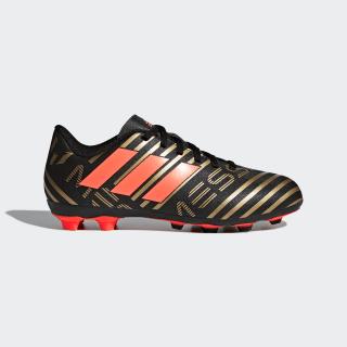 Calzado de Fútbol Nemeziz Messi 17.4 Terreno Flexible CORE BLACK/SOLAR RED/TACTILE GOLD MET. F17 CP9210