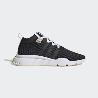 EQT Support Mid ADV Primeknit Shoes Core Black / Carbon / Ecru Tint DB2721