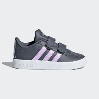 VL Court 2.0 Shoes Onix / Clear Lilac / Cloud White B75980