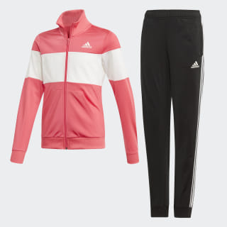 Conjunto Deportivo Top:REAL PINK S18/white Bottom:BLACK/REAL PINK S18 ED4641