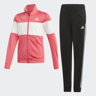 Conjunto de Chaqueta y pantalón Top:REAL PINK S18/white Bottom:BLACK/REAL PINK S18 ED4641